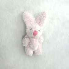 Momoko Blythe Pullip 1/6 Bjd Doll Miniature 4cm Mini Plush Bunny Rabbit Pink