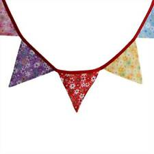 Colorful Birthday Bunting Banner Garlands Engagement Pennant Party Decoration Q