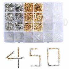 Cosses Electriques Plates à Sertir Male Femelle Cuivre 450 Pieces Auto Resistant