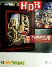 Kelby Training Mastering HDR in Adobe Photoshop CS5 CD Rom. NEW, Other.