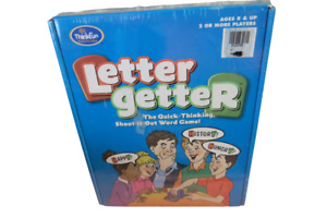 Letter Getter Word Game By ThinkFun Quick Thinking Shout It Out 2004 New Sealed