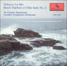 Debussy/Ravel:La Mer/Daphnis & Chloe Mackerras,Charles Audio CD
