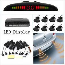 12V Car LED Display 8 Parking Sensor Probe Reverse Backup Radar Alarming System