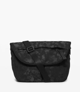 NWT Lululemon All Night Festival Bag~ 5L~ Fragment Camo Jacquard Black Deep Coal