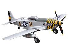 RC Flugzeug Motorflugzeug Amewi P-51D Mustang yellow PNP 4 Kanal SW 75 cm