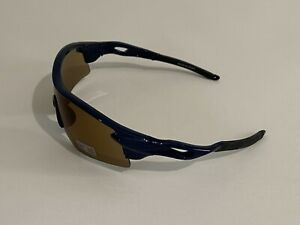 Unisex Adult Sports Sunglasses wt UV Protection One Size in Blue Plastic
