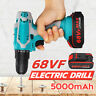68VF Electric Compact Drill Cordless Power Tool Screwdriver Li-on Battery