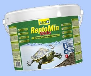 Tetra ReptoMin Schildkrötenfutter Sticks 2,8kg 10 L -MHD 08/2023- 24 Std.Versand
