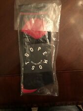 New NWT Most Dope by Mac Miller Socks Black Red Unisex Rap