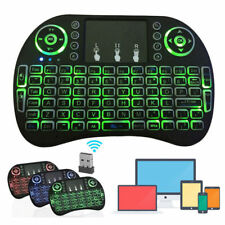 Mini 3 Backlit i8 2.4GHz Wireless Keyboard for Respberry LG TV Box Android PC