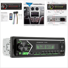 1Din Car Stereo Radio Bluetooth Mp3 Player Fm/Usb/Tf/Aux With Remote Control