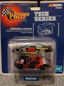 #28 KENNY IRWIN-TECH SERIES-1998 HASBRO 1:64 DIECAST CAR-REMOVABLE CHASSI NASCAR