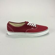 Vans Authentic Trainers Pumps Brand new in box Maroon in Sizes 9,9.5,11,13.