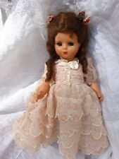 "ITALIAN MADE DOLL ATHENA PIACENZA  10"" Doll 1940's or 1950's All original outfit"