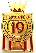 Liverpool Pin Badges  Champions 2020 Premier League Badge