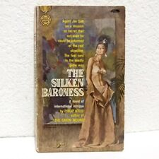 THE SILKEN BARONESS Paperback by Philip Atlee - Gold Medal Crime Suspense Pulp