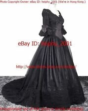 Sub=$20 Stunning* Cinderella* Vintage Gothic Wedding Dress Plus Size 22 30,34 3h
