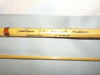 """A 7' 4 Wt. 2 Piece, 1Tip, Headwaters """"Santiam"""" Bamboo Fly Rod with Bag & Tube!"""