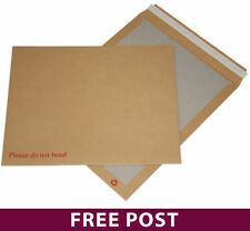 125 - Manilla Board Backed Self Seal Premier Envelopes A4/C4 Please do not bend