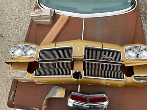 1973 Oldsmobile Olds Delta 88 Grille Front Nose Cone Header Panel Headlight OEM