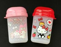 Sanrio Hello Kitty My Melody  Oshibori Towel Case Holder Storege