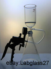 Filtration Device Filter Kit 2000ml Flask ,500ml Buchner Funnel & Vacuum Pump