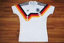 GERMANY DEUTSCHLAND NATIONAL FOOTBALL TEAM 1988 1989 1990 ADIDAS HOME FOOTBALL S