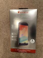 NEW ZAGG InvisibleShield HD Glass+ Screen Protector for Apple iPhone 8/7/6S/6 +