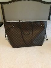 Authentic Louis Vuitton Damier Neverfull GM Tote Bag