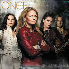 Once Upon A Time TV Series 16 Month 2018 Wall Calendar with Download NEW SEALED