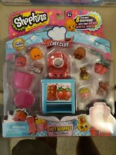 New Shopkins Limited  Chef Club Hot Waffle Collection 8 Exclusive BX1