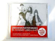 BENJAMIN SCHOOS alias MIAM MONSTER MIAM : L'HOMME LIBELLULE || CD NEUF ! PORT 0€