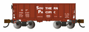 BACHMANN N SOUTHERN PACIFIC™ #345047 - OXIDE RED - ORE CAR BAC18656