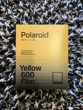 Polaroid Black & Yellow Duochrome Limited Edition 600 Film cold stored flat