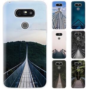 Dessana Bridges TPU Silicone Protective Cover Phone Case Cover For LG