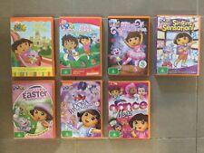 Nickelodeon Dora the Explorer DVDs x 7 Bulk Lot, Vintage, Original Titles, Kids