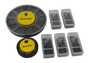 Ballabeni Fishing Weights -Split Shot & Multi Dispenser *Variety of Sizes*
