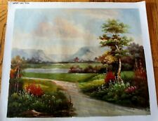 """Landscape Hand Painted High Quality Oil Painting on Canvas 20""""x 24"""""""