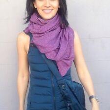 NWT Lululemon REVERSIBLE Vinyasa Wrap Scarf RULU Wrap Ultra Violet Pique