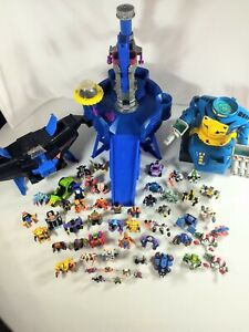 Vintage Galoob ZBots Lot Of 55 Z-Bots Minis & More 92 93 94 Micro Machines *Read