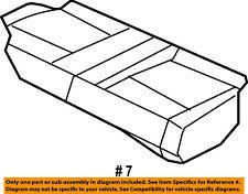 Dodge CHRYSLER OEM 2009 Caliber Rear Seat-Cushion Cover 1LZ431DVAA