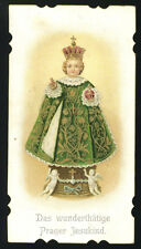 santino cromo-holy card GESU' BAMBINO DI PRAGA 1