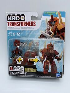 KRE-O Transformers Sideswipe 26 piece Hasbro Building Collection 1 New