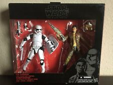 "Star Wars Black Series 6"" Inch Figure Poe Dameron First Order Riot Stormtrooper"