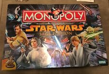 Monopoly Star Wars Saga Edition Parker Brothers 2005 Game In Box