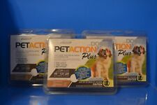 (3) Pet Action Plus Dog Flea & Tick Applicators, 89 - 132 Lbs 3-Doses Each