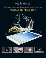 New Real Tempered Glass Film Screen Protector For Apple iPad Air / iPad Air 2