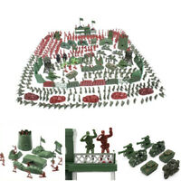 4cm Action Figures Army Men Soldier Military Playset with Vehicles 500pcs