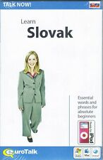 Talk Now! Learn Slovak, Cd-Rom Language Learning Series