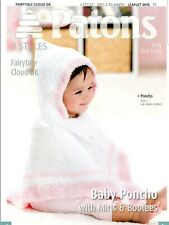 PATONS| Pattern: Baby Poncho and Accessories | PBN3976